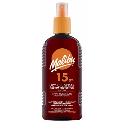 Malibu Dry Oil Spray SPF15 200 ml