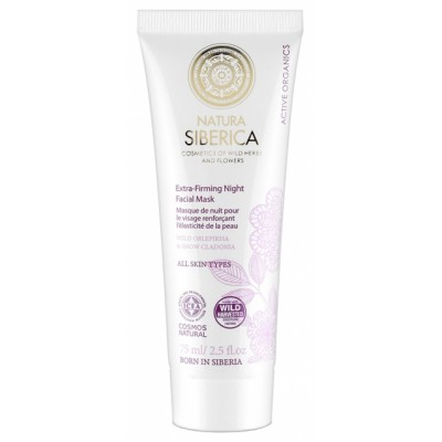 Natura Siberica Extra-Firming Night Facial Mask 75 ml