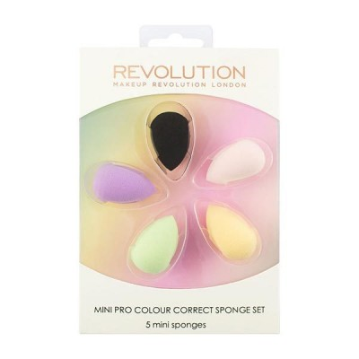 Revolution Make-up Pro Colour Correct Mini Schwämme Set 5 stk