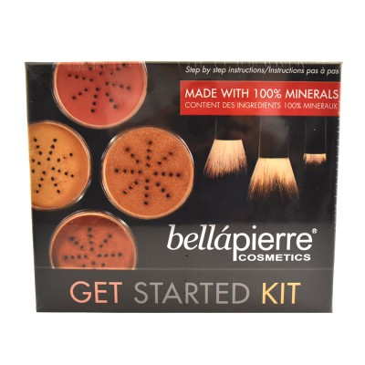 Bellápierre Cosmetics Get Started Kit Fair 7 stk
