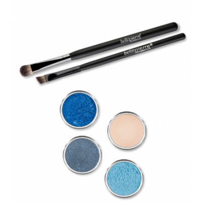 Bellápierre Cosmetics Get The Look Eye Kit Deep Ocean 6 pcs