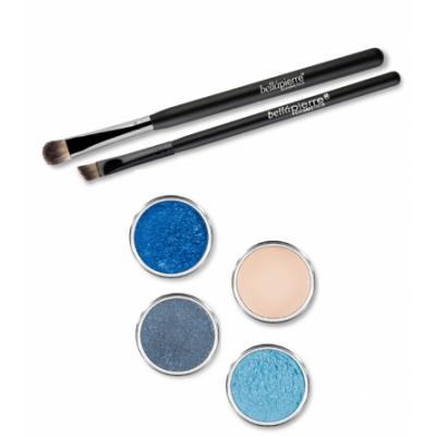 Bellápierre Cosmetics Get The Look Eye Kit Deep Ocean 6 kpl