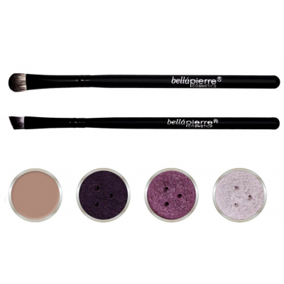 Bellápierre Cosmetics Get The Look Eye Kit Purple Storm 6 stk