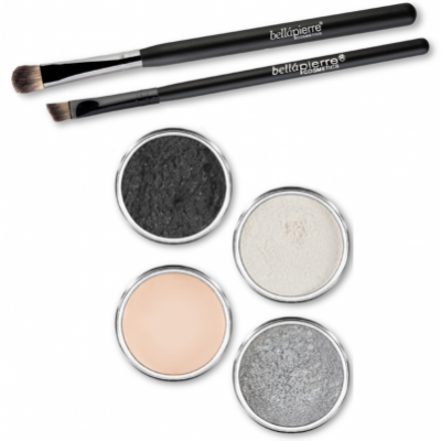 Bellápierre Cosmetics Get The Look Eye Kit Smokey Eyes 6 pcs