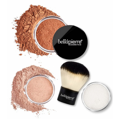 Bellápierre Cosmetics Sunkissed & Defined Bronzing Kit 4 pcs