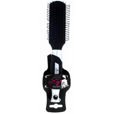 Zazie Hair Brush Oblong Black 1 st