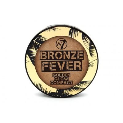 W7 Bronze Fever Golden Glow Compact 14 g
