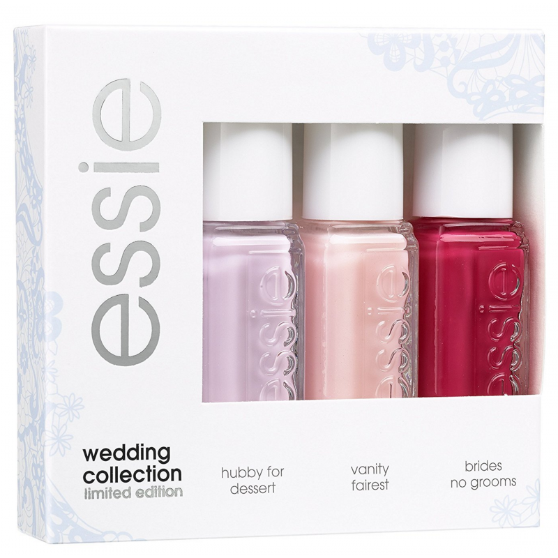 essie nail polish 3 piece set wedding collection 3 x 5 ml euro. Black Bedroom Furniture Sets. Home Design Ideas