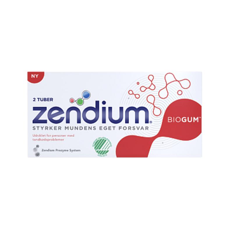 Zendium biogum 2 pak tandpasta 2 x 50 ml 19 kr for Dormitorio 2 50 x 2 50