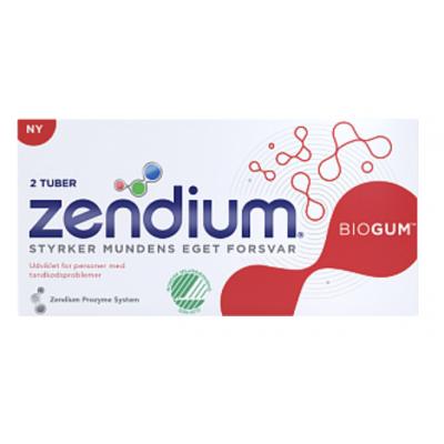 Zendium Biogum 2-pakning Tannkrem 2 x 50 ml