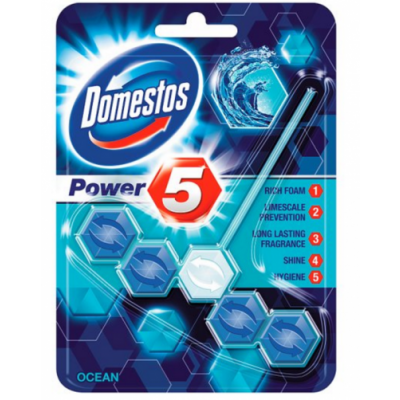 Domestos WC-Duftstein Power 5 Ocean 55 g