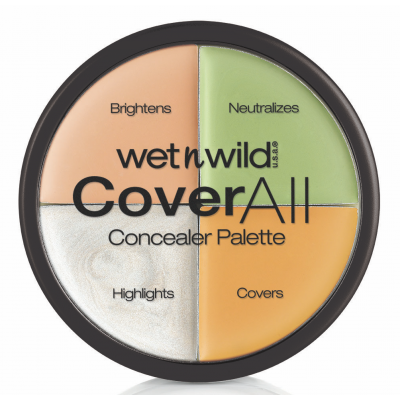 Wet 'n Wild CoverAll Concealer Palette 6,5 g
