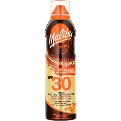 Malibu Continuous Dry Oil Spray SPF30 175 ml