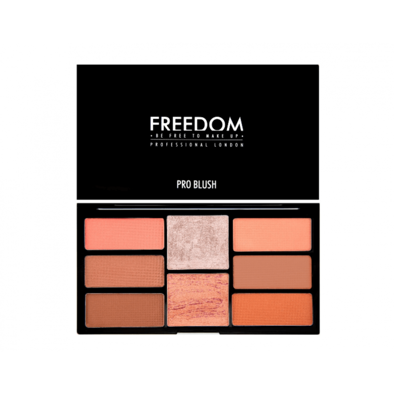 Freedom Makeup Pro Blush Palette Peach Amp Baked 15 G 163 4 45