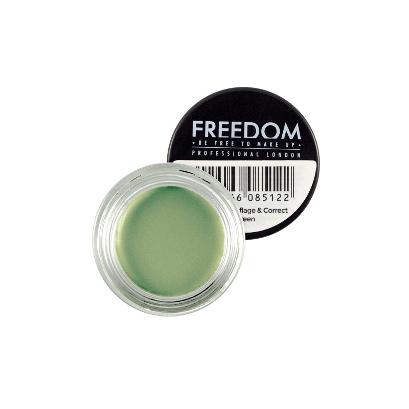 Freedom Makeup Pro Camouflage Amp Correct Concealer Green 2