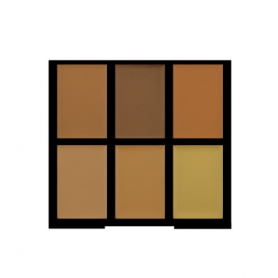 Freedom Makeup Pro Conceal & Correct Palette Color Correct Light Medium Dark 6 g