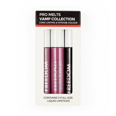 Freedom Makeup Pro Melts Vamp Lipgloss Collection 3 stk