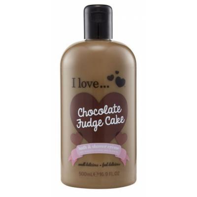 I Love Cosmetics Bath & Shower Creme Chocolate Fudge Cake 500 ml