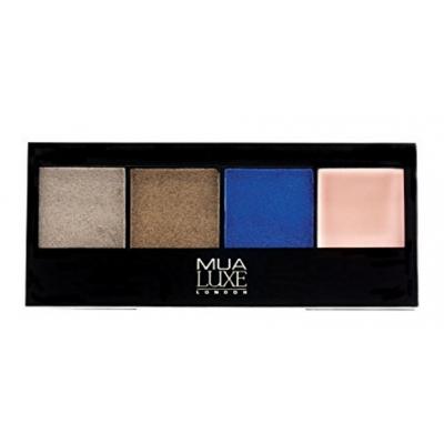 MUA Makeup Academy Luxe Metallic Eyeshadow Palette Elemental 3,2 g