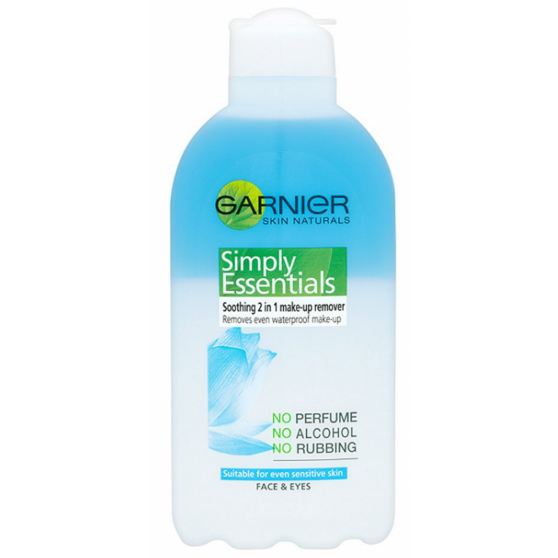 Garnier Soothing 2in1 Makeup Remover 200 Ml - U00a32.45