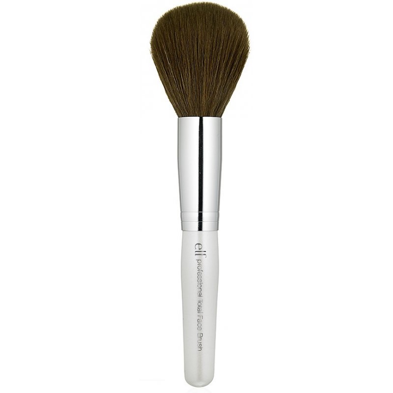 Elf total face brush review