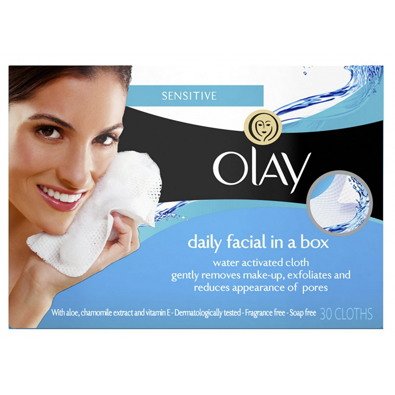 Oil of olay facial wipes