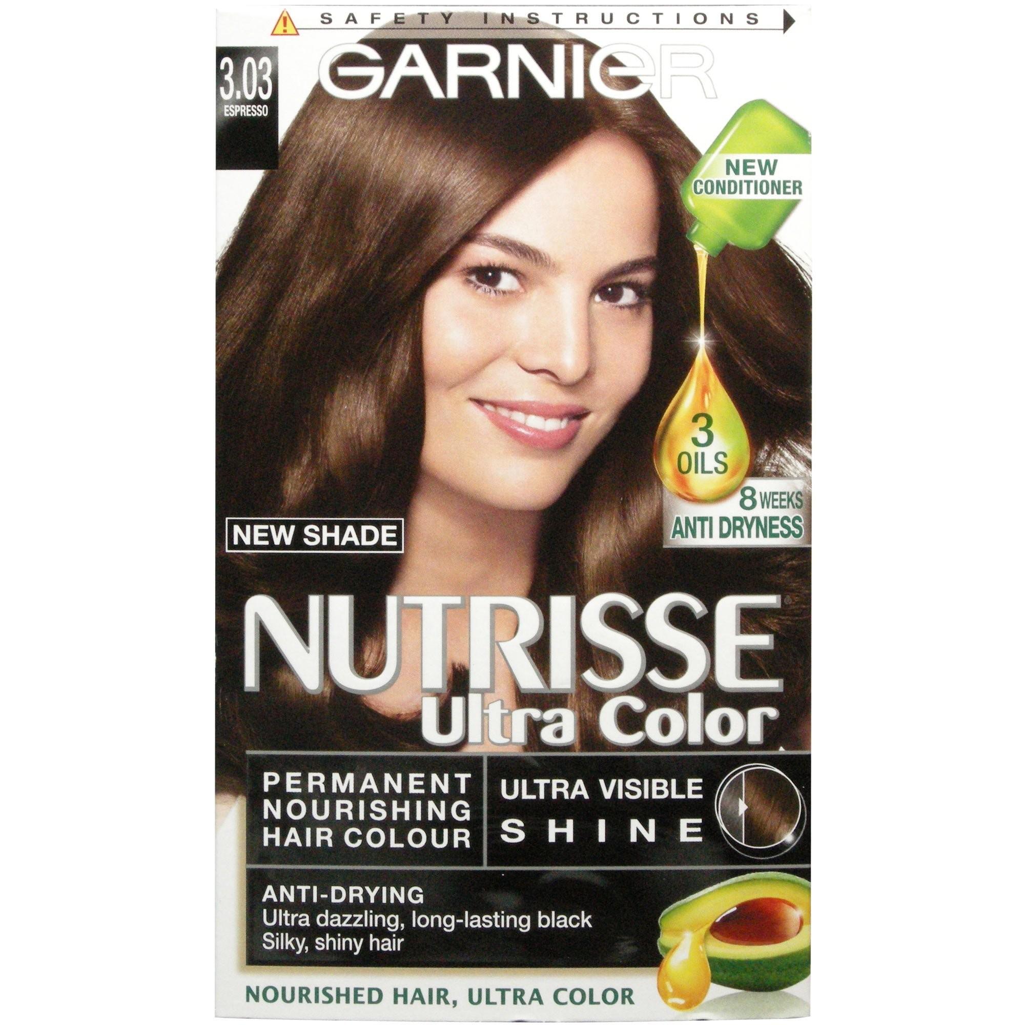 nutrisse hårfarve