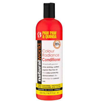Natural World Paw Paw & Quinoa Colour Radiance Conditioner 500 ml