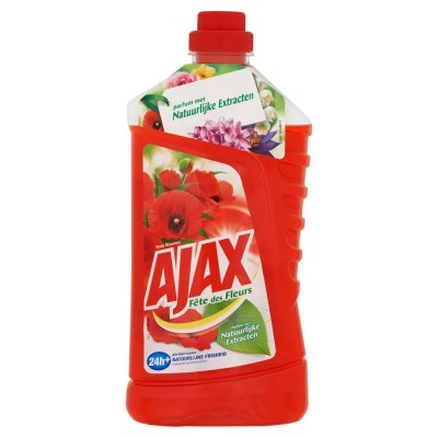 Ajax Multi Usage Cleaner Red Flowers 1000 ml