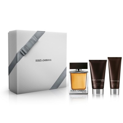 Dolce & Gabbana The One For Men EDT & Aftershave & Shower Gel 100 ml + 75 ml + 50 ml