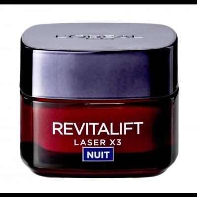 L'Oreal Revitalift Laser X3 Nacht Gesichtsfluid 50 ml
