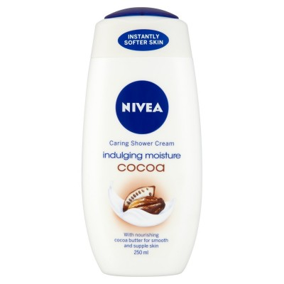 Nivea Indulging Moisture Cocoa Shower Cream 250 ml