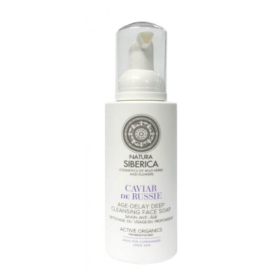 Natura Siberica Caviar De Russie Age Delay Deep Cleansing Face Soap 175 ml