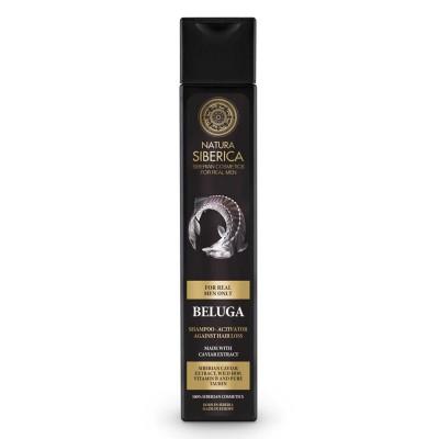 Natura Siberica Men Beluga Shampoo 250 ml