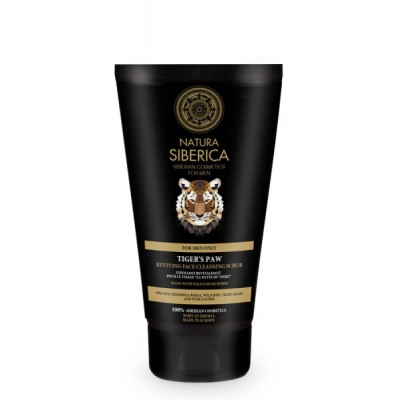 Natura Siberica Men Tiger's Paw Reviving Face Cleansing Scrub 150 ml