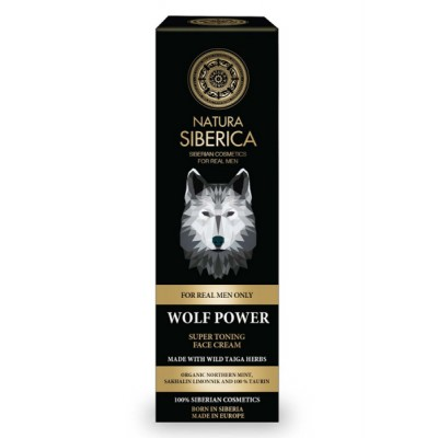 Natura Siberica Men Wolf Power Super Tonic Face Cream 50 ml