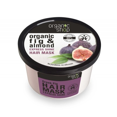 Organic Shop Organic Fig & Almond Express Shine Hair Mask 250 ml