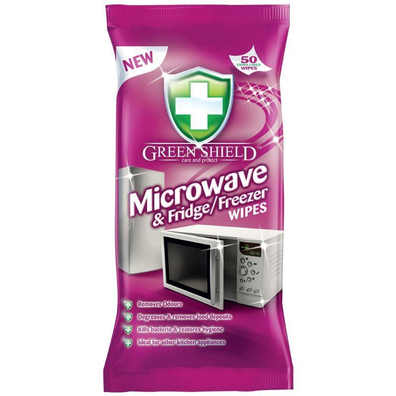 Green Shield Microwave Amp Fridge Amp Freezer Wipes 50 Pcs 163 0 95