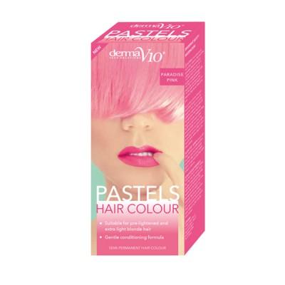 DermaV10 Pastels Hair Colour Paradise Pink 1 stk