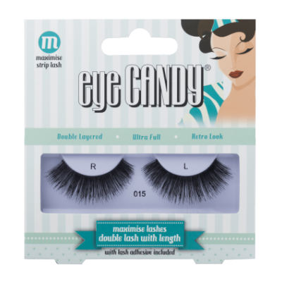 Eye Candy 50's Style False Lashes 015 1 kpl