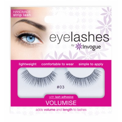 Invogue Eyelashes Volumise 03 1 par