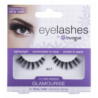 Invogue Eyelashes Glamourise 07 1 kpl