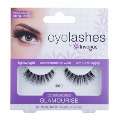 Invogue Eyelashes Glamourise 09 1 pair