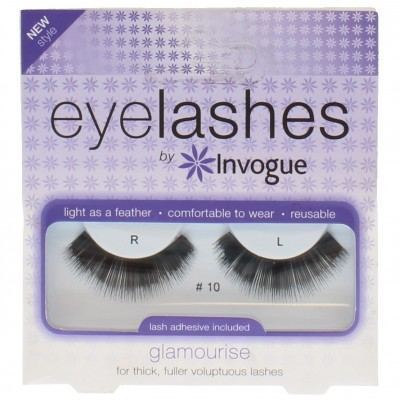 Invogue Eyelashes Glamourise 10 1 kpl