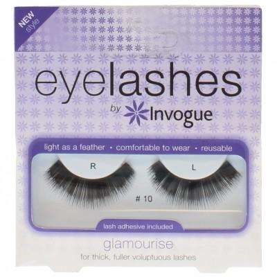 Invogue Eyelashes Glamourise 10 1 pair