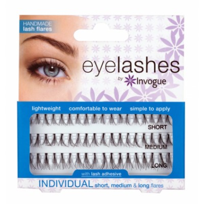 Invogue Individual False Lashes Combo 1 stk