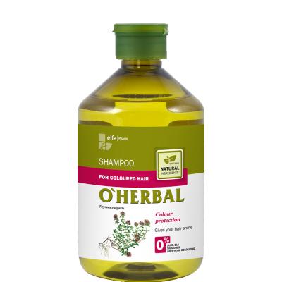 O'Herbal Coloured Hair Thyme Extract Shampoo 500 ml