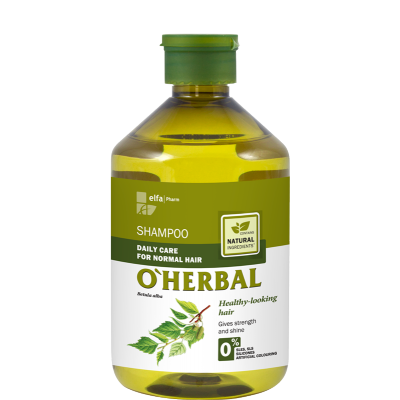 O'Herbal Daily Care Normal Hair Birch Extract Shampoo 500 ml
