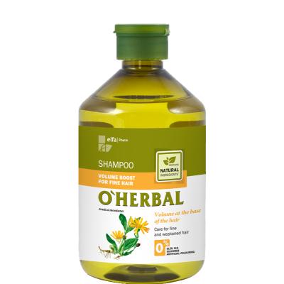 O'Herbal Volume Boost Fine Hair Arnica Extract Shampoo 500 ml
