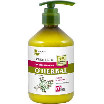 O'Herbal Coloured Hair Thyme Extract Conditioner 500 ml